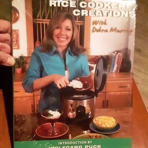 Rice Cooker Creations Cookbook .NEW